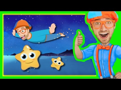 Thumbnail: Twinkle Twinkle Little Star by Blippi | Bedtime Songs for Kids
