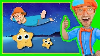 Twinkle Twinkle Little Star by Blippi | Bedtime Songs for Kids