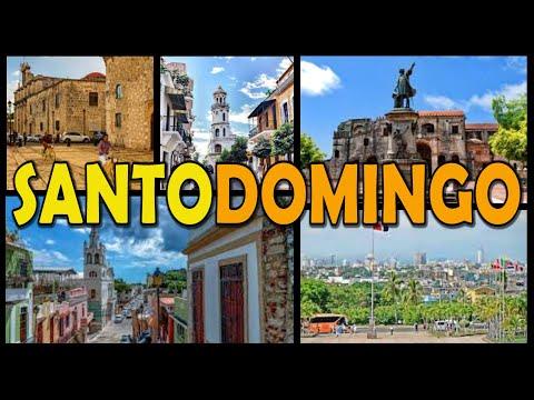 SANTO DOMINGO Colonial Zone - Dominican Republic (4K)