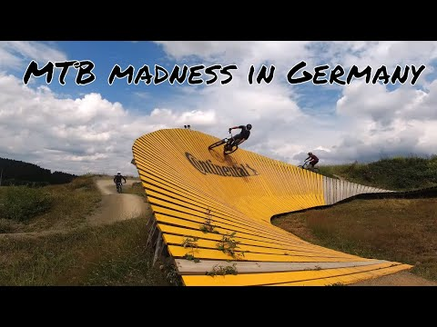 Mountain bike Winterberg bikepark and Eifel national park in autumn, a short mtb video