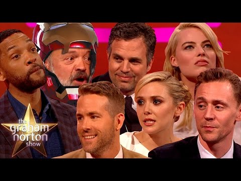 THE DARK NORTON RISES | Best Superhero Moments on The Graham Norton Show
