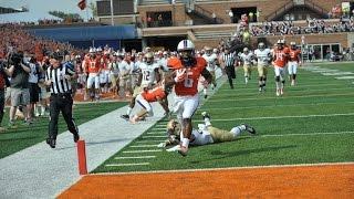 Illinois Football Postgame Highlights vs Texas State 9/20/14
