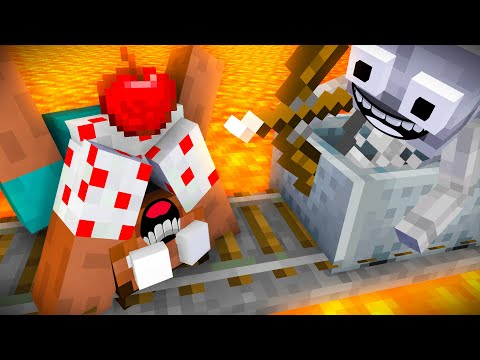 Monster School : Robber - Minecraft Animation