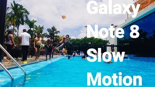 Samsung Galaxy Note 8 Camera test- Slow Motion