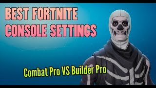 FORTNITE BEST SETTING FOR CONSOLE (BUILDER PRO) - How to Build Extremely Fast