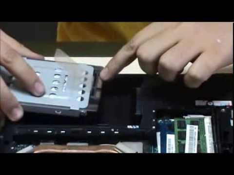 Tutorial Cara Mengganti Harddisk Dengan Ssd Pada Notebook Youtube
