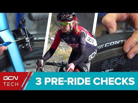 3 Essential Pre-Ride Checks For Your Road Bike