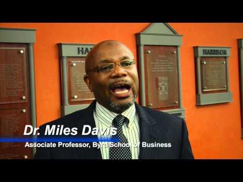 Dr. Miles Davis Named Dean of Business School