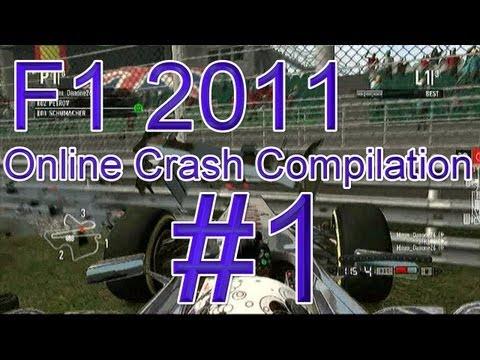F1 2011 Online Crash Compilation