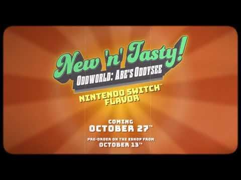 Oddworld: New 'n' Tasty - Ab 27. Oktober erhältlich!