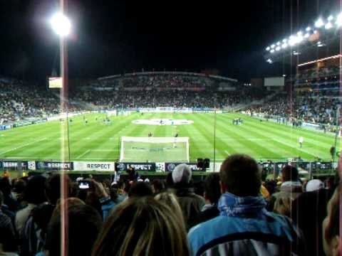 Aux armes Olympique de Marseille - Real de Madrid 08-12-2009