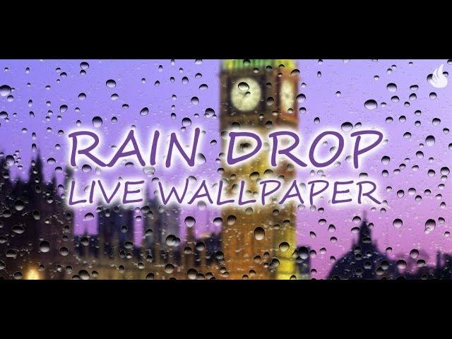 Download Rain Drop Live Wallpaper Apk Latest Version App By