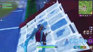 Playing fortnite battle royal trying to get the mask Fortnite grind ##