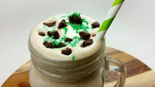 Choc Mint Brownie Milkshake