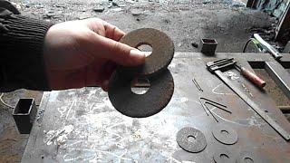 Не выбрасывай сточенные диски от болгарки, они пригодятся в сварке