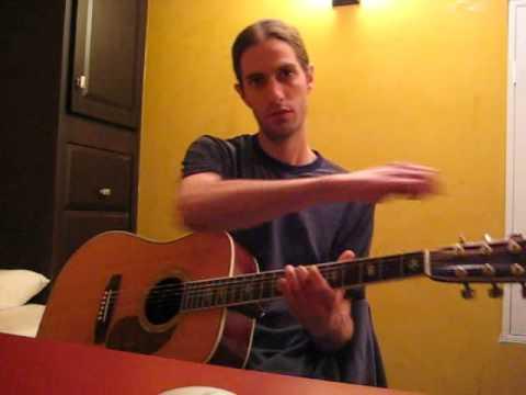 Jeff Buckley Guitar Lesson 1a   Last Goodbye