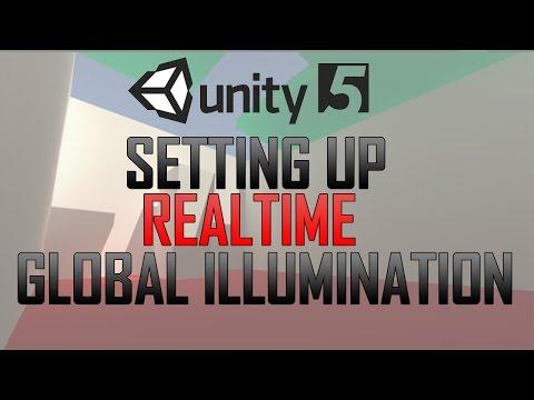 Setting up Realtime Global Illumination in Unity 5