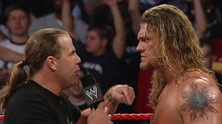 vuclip Shawn Michaels and Edge brawl throughout the arena: Raw,