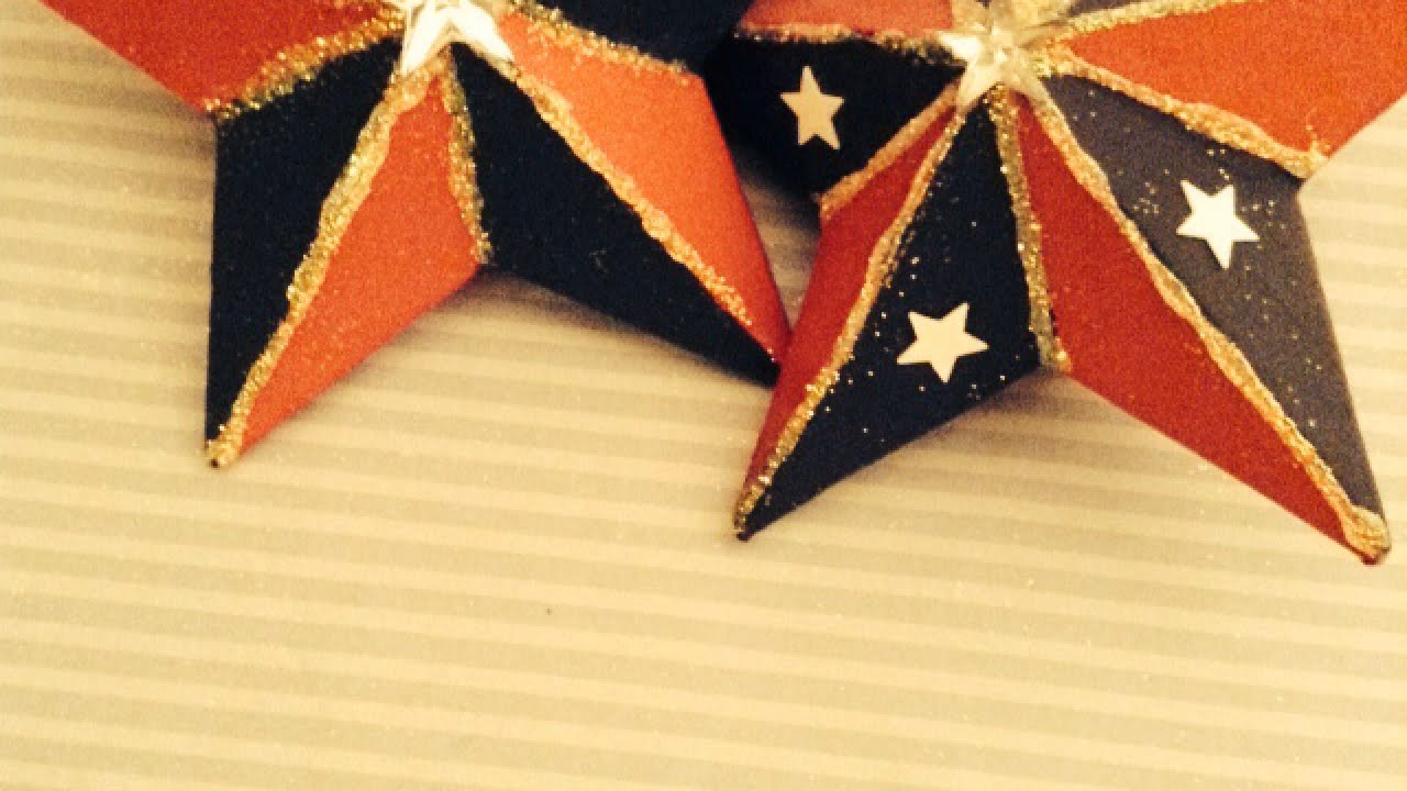 Make Pretty Patriotic Paper Mache Stars - DIY Home - Guidecentral ...