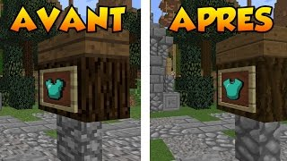 LE TEXTURE PACK QUI REND MINECRAFT BEAU - FAITHFUL TEXTURE PACK MINECRAFT 1.9