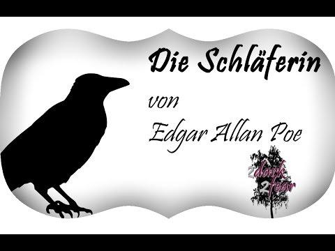 Gedicht Edgar Allan Poe Die Schläferin
