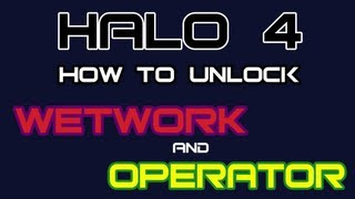 Halo 4: How to Unlock Wetwork & Operator Specializations!