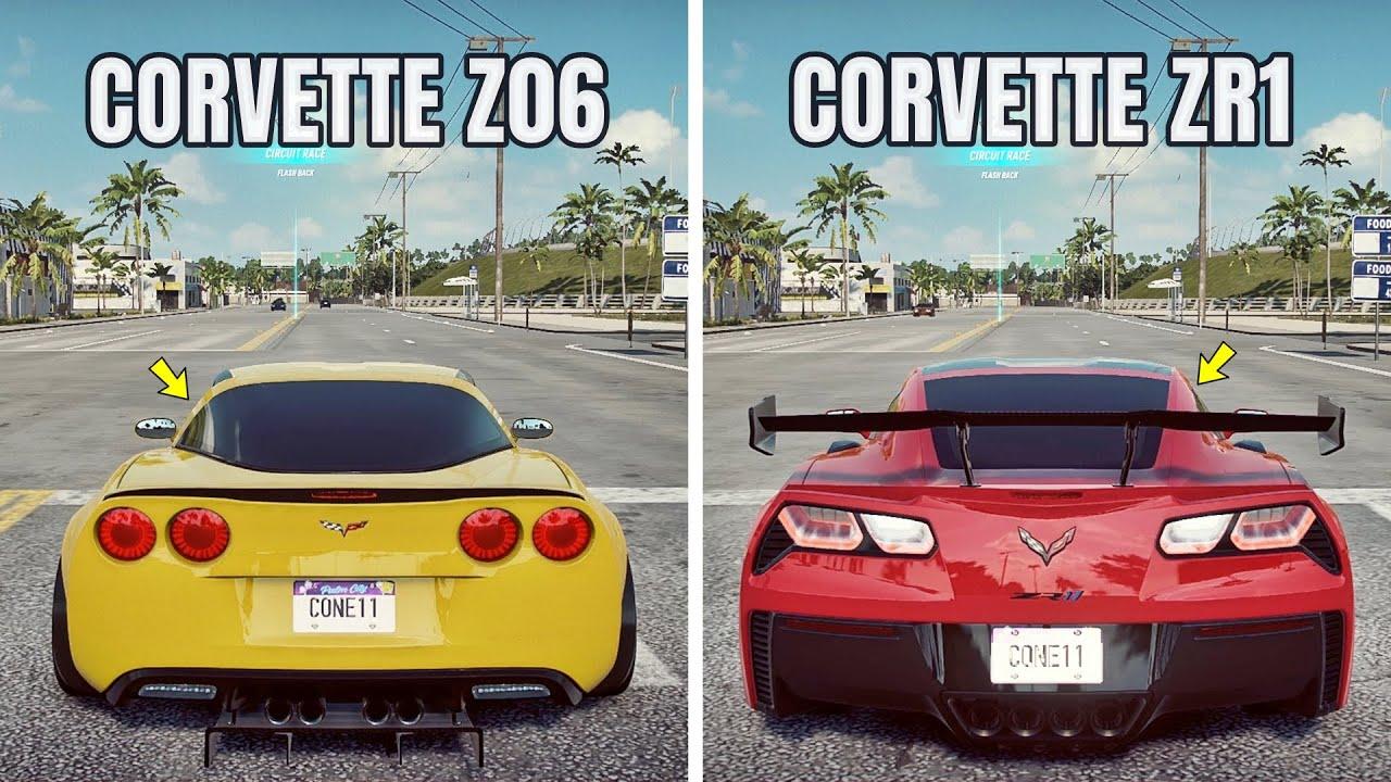 NFS Heat: CORVETTE Z06 VS CORVETTE ZR1 (WHICH IS FASTEST ...