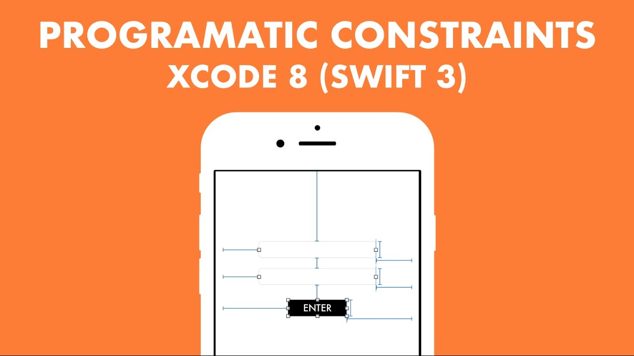 how to add constraints programmatically swfit