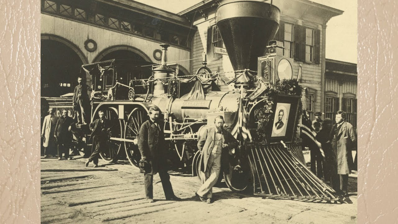 Lincoln Funeral Train Through Boone County Youtube