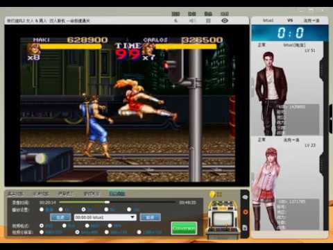 final fight 2 (sfc) normal level maki + carlos deathless full play  快打旋风2(女人&男人)双人一命极速通关