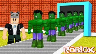 We've built a Hulk Superhero Factory! - Roblox Super Hero Tycoon with Panda