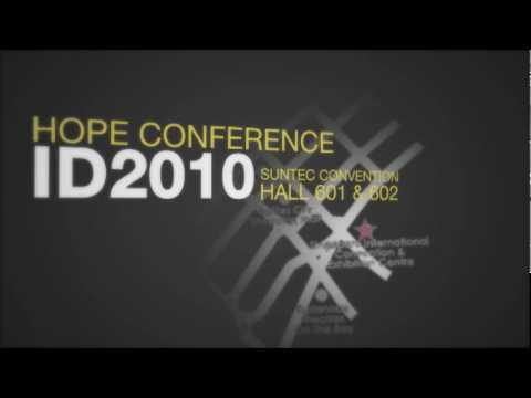 Hope Conference ID2010 - Publicity 5