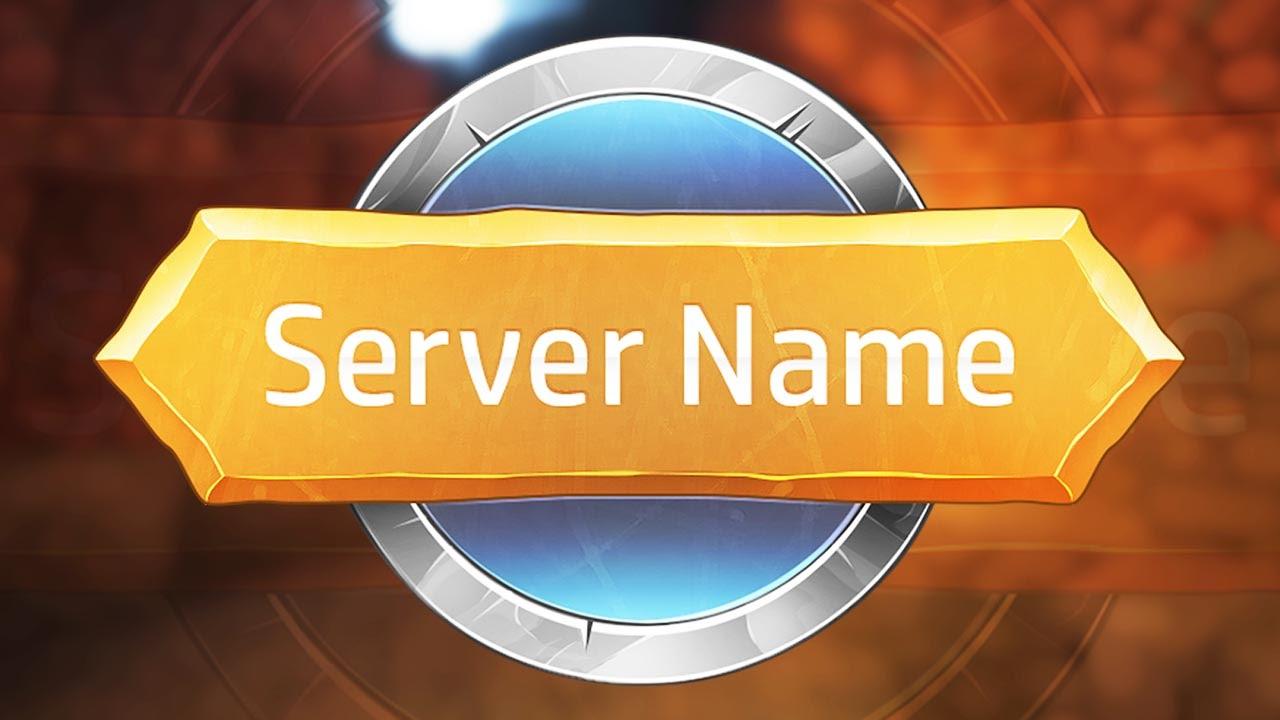 minecraft server logo template quotgolden platequot youtube