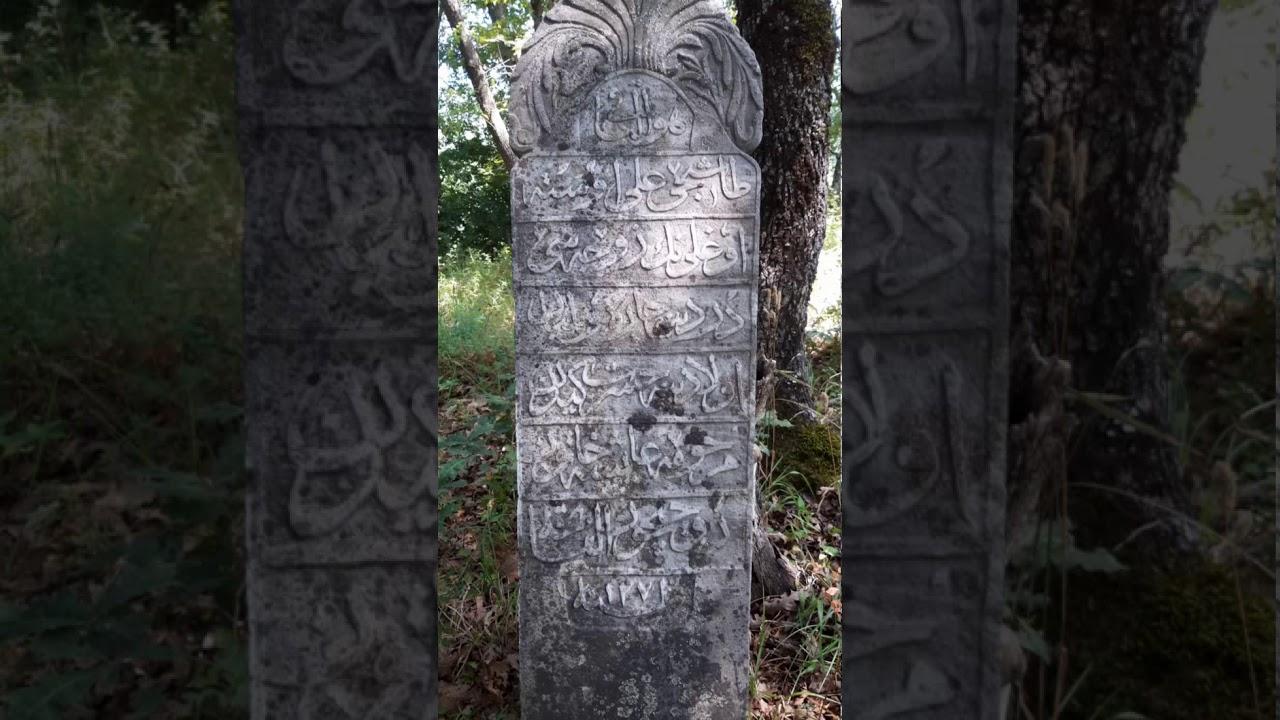 Mezar taşı okumaları (Sinop Ayancık)