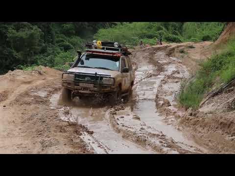 "Traversée "" off road""  Lubumbashi /Kinshasa avec ggroadtrip.com. Film Complet"