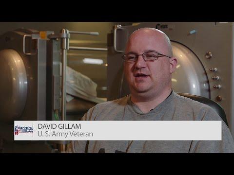 U. S. Army Veteran David Gillam | Independence Fund Hyperbaric & Wellness Center
