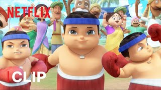 Vijay, the Mightiest Wrestler 💪 Mighty Little Bheem | Netflix Jr