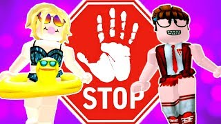 CHALLENGE of the STOP in ROBLOX #01 (Meepcity)