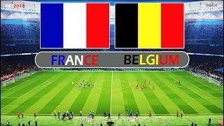 PES 2018 | FRANCE vs BELGIUM | Full Match & Amazing Goals | Gameplay PC
