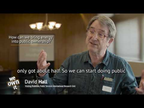 How can we bring energy into public ownership?