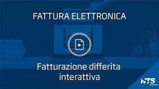 Consolle: menù fatture ricevute-GSE - Fatturazione differita interattiva