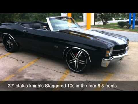 71 chevy chevelle ss 454 convertible youtube. Black Bedroom Furniture Sets. Home Design Ideas