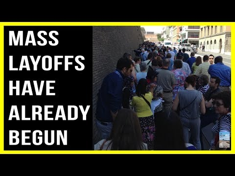 MASS LAYOFFS Across U S  as Economy Continues To Sink!