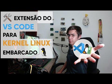 🛠 Extensão do VS Code para Kernel Linux Embarcado🐧