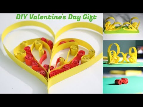 DIY Valentine's Day Explosion Heart | Paper Heart | Paper Heart with Message | NK Crafts