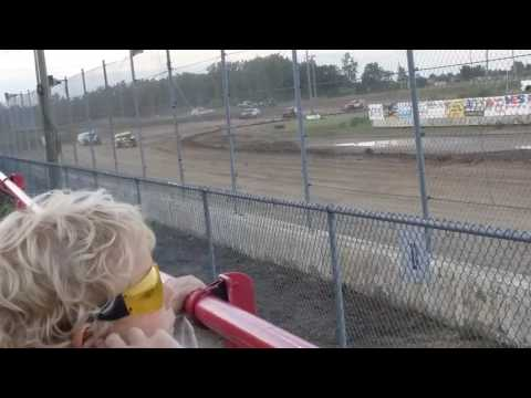 A.j Ward Racing 6/23/17@ I-96 speedway)heat race