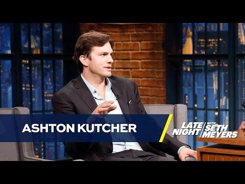 Ashton Kutcher Taught Daughter To Swear At The Dog