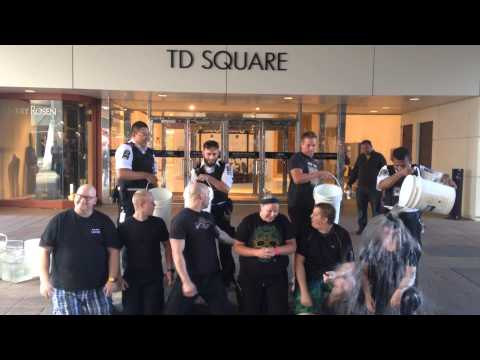 CORE Security Team Takes the #ALSIceBucketChallenge!