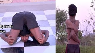 RUBBER BOY(MOST FLEXIBLE BODY also known as BONELESS MAN)ever in INDIA