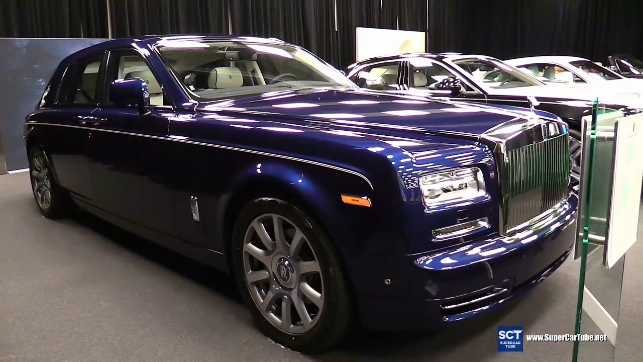 2016 rolls royce phantom exterior and interior walkaround 2016 montreal auto show youtube. Black Bedroom Furniture Sets. Home Design Ideas